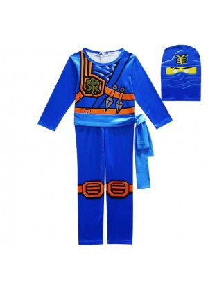 Blue Ninjago Ninja Kids Costume