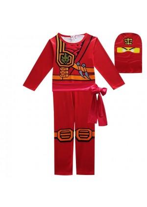 Red Ninjago Ninja Kids Costume