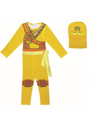 Yellow Ninjago Ninja Kids Costume