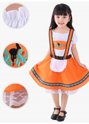 Girls Oktoberfest Costume tt3144