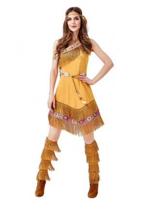 Ladies Native American Costume tt3146