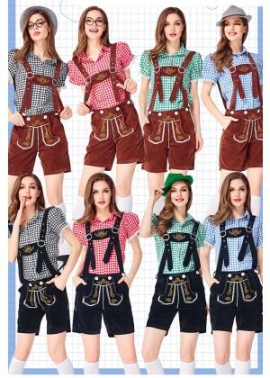 Ladies Oktoberfest Beer Maid Babe Costume tt3149