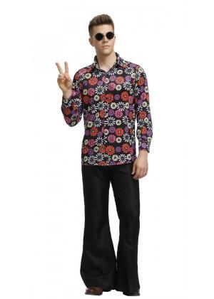 Mens 60s 70s Hippie Costume tt3151