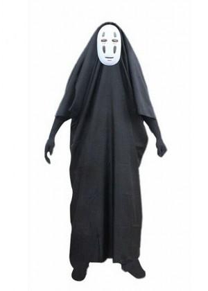 Kids Spirited Away Faceless Costume + Mask tt3179kids