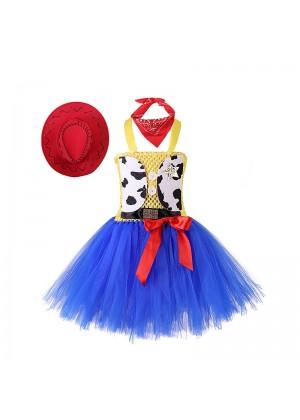 Girls Toy Story Jessie Cowgirl Tutu Dress tt3157