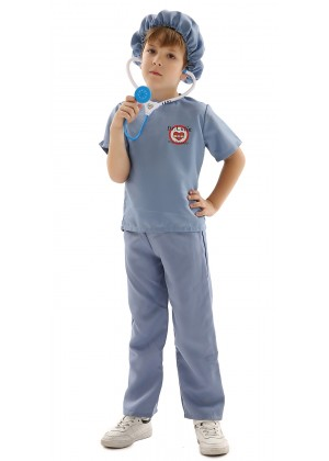 Kids Doctors Surgeon Nurse Costume