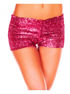 Pink Sequin short Ladies