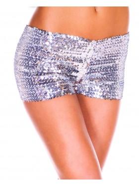 Silver Sequin short Ladies