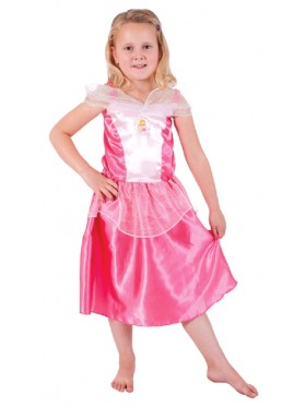 Deluxe Girls Sleeping Beauty Princess Aurora Costume Fairytale Dress Book Week Party Disney Outfit