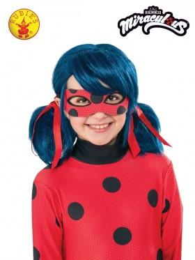 Ladies Miraculous Ladybug Wig