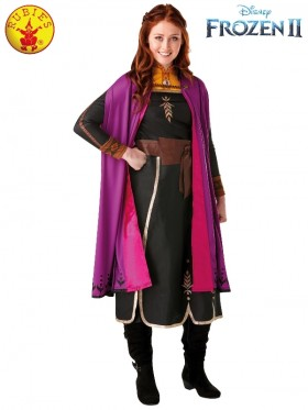 Ladies Frozen 2 Ladies Snow Adult Anna Frozen Princess Costume