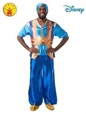 Mens Genie Aladdin Disney Live Action Fairytale Adult Costume