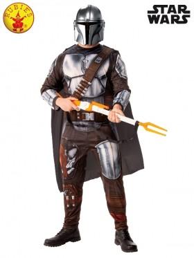 Mens Star Wars Mandalorian Deluxe Costume
