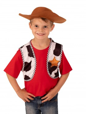 Toy Story Woody's Vest and Hat Accessory Kit