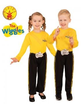 Emma Yellow The Wiggle Pants Costume