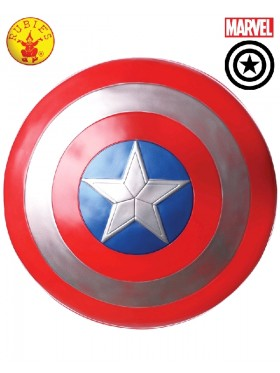 "Captain America Shield 24"" Fancy Dress Superhero Licensed Costume Accessory"