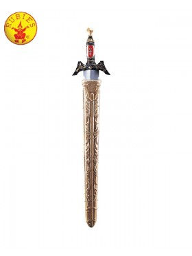 "26"" Medieval Times Sword Knight Warrior King With Sheath Costume Accessory"