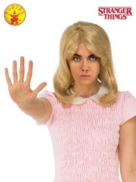 Stranger Things Eleven Blonde Adult Wig