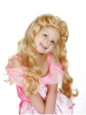 Kids Sleeping beauty wigs