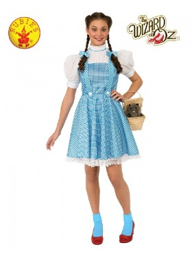 Adult Ladies Storybook Licensed The Wizard of Oz Dorothy Book Week Dress Costume