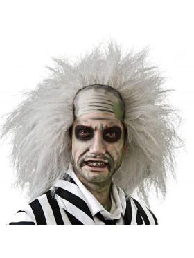 Licensed Beetlejuice Wig Mens Adult Fancy Dress Halloween Crazy Costume Accessories