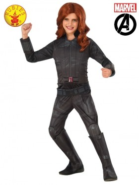Girls BLACK WIDOW MARVEL COSTUME