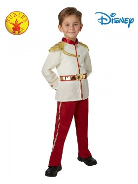 Kids Prince Charming Boys Costume Disney Storybook Fairytale Story Book Week Outfit