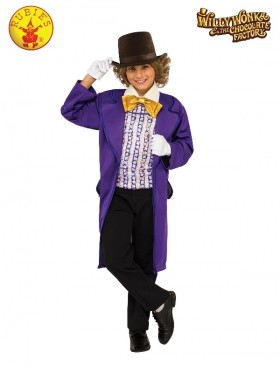 Kids Willy Wonka Chocolate Factory Costume