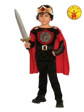 LITTLE KNIGHT CHILD BOYS MEDIEVAL FANCY DRESS HALLOWEEN COSTUME BOOK WEEK
