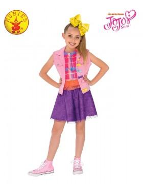 JOJO SIWA MUSIC VIDEO Girls Fancy Dress Celebrity Music Diva Childs Idol Kid Outfit Costumes