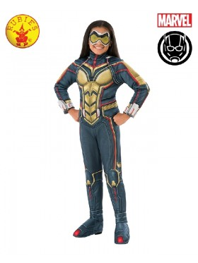 Deluxe Wasp Boys Fancy Dress Superhero Marvel Child Comic Book Day Kids Childrens Costume