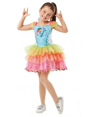 Girl My Little Pony Rainbow Costume