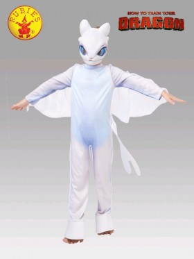 How to Train Your Dragon 3 Toothless Light Fury LIGHTFURY Child Boy Licensed Costume