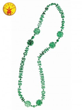 Happy St Patrick's Day Beads