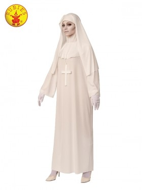 White Nun Ladies Costume