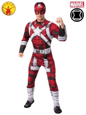 MENS RED GUARDIAN COSTUME