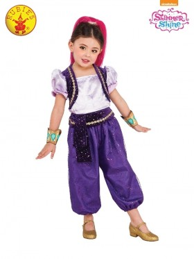 Girls Shimmer Deluxe Costume