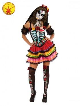Womans Day of the Dead Senorita Costume