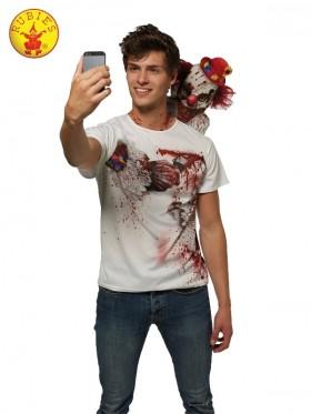 Mens Clown Selfie Shocker Costume