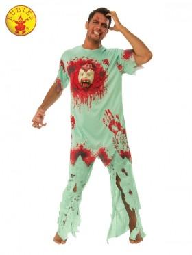 Crazy Patient Zombie Costume