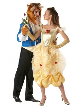 Deluxe Belle Princess Disney Live Action Beauty & The Beast Dress Womens Disney Ladies Costume