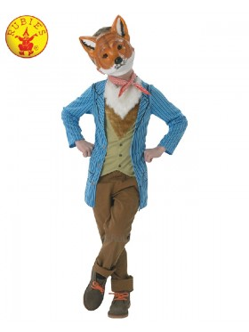 Boys Roald Dahl Fantastic Mr Fox Costume World Book Week Fancy Dress Kids Child