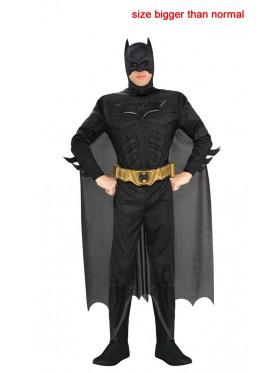 Adult Dark Knight Rises Deluxe Batman Halloween Costume