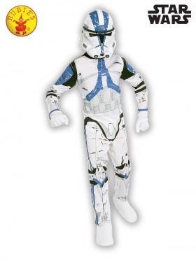 Kids Clone Trooper Suit Costume