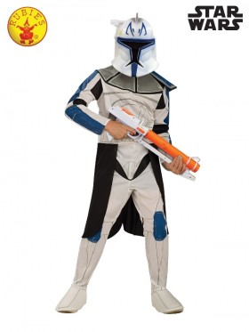 Kids Clone Trooper Captain Rex Costume