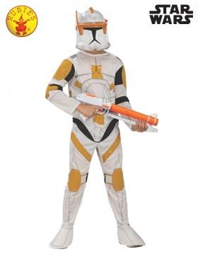 Boys Clone Trooper Commander Cody Costume