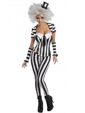 Mrs Beetlejuice Halloween Licensed Costume