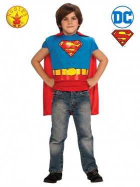 Superman Muscle Chest Child Costume Top