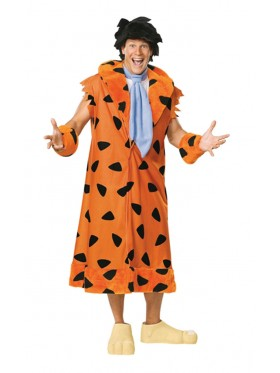 The Flintstones Fred Flintstone Flint Stone Licensed Adult Halloween Costume