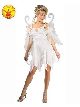 Ladies Halloween Rubie's Secret Wishes Snow Fairy Adult Fancy Dress Book Week Costume Outfits